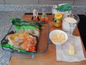 Cauliflower cheese - deanysdesigns.co.uk