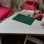homemade desk extension - deanysdesigns.co.uk