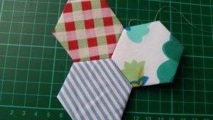 Handmade patchwork piecing - deanysdesigns.co.uk