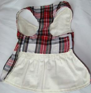 Handmade Dog kilt dress / harness - deanysdesigns.co.uk