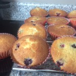 Homemade blackberry cupcakes - deanysdesignscouk