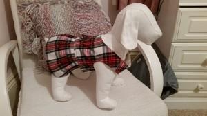handmade tartan kilt dog dress harness - deanysdesigns.co.uk