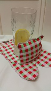 handmade Cath Kidston cat coasters CD recycling - deanysdesigns.co.uk