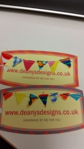 Handmade tags - deanysdesigns.co.uk