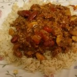Homemade chilli con carne - deanysdesigns.co.uk