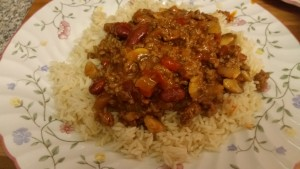 Homemade chilli con carne - deanysdesigns.co.uk
