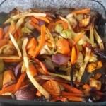 homemeade roasted vegetables - deanysdesigns.co.uk