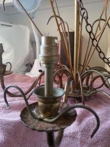 chandelier restoration - deanysdesigns.co.uk