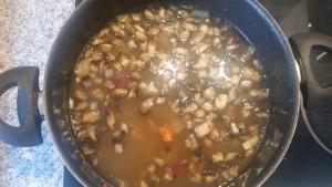 homemade chicken & mushroom soup ~ deanysdesigns.co.uk