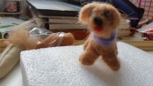 Handmade needle felting tutorial ~ deanysdesigns.co.uk