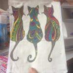 handmade printing on fabric - deanysdesigns.co.uk