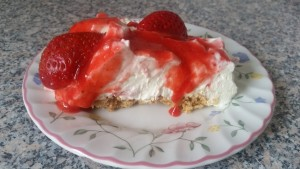homemade strawberry cheesecake ~ deanysdesigns.co.uk