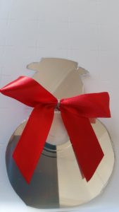handmade CD recycling christmas decorations ~ deanysdesigns.co.uk
