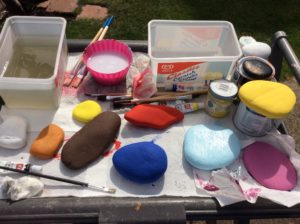 Handmade painting stones - deanysdesigns.co.uk