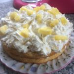homemade fresh pineapple cake - deanysdesigns.co.uk