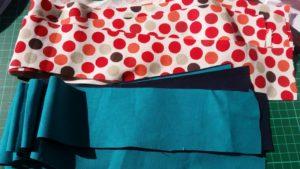 handmade fabric woven basket ~ deanysdesigns.co.uk