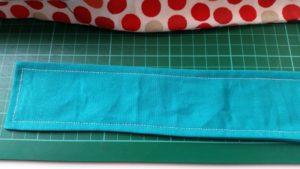 Handmade fabric woven basket - deanysdesigns.co.uk