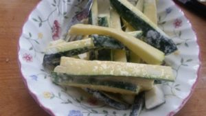 homemade crispy courgette sticks - deanysdesigns.co.uk