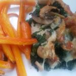 homemade creamed spinach & mushroom smothered chicken - deanysdesigns.co.uk