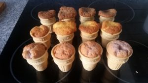 Homemade ice cream cone cupcakes - deanysdesigns.co.uk