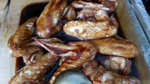homemade sticky spicy chicken wings - deanysdesigns.co.uk