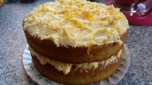 homemade tarty orange cake - deanysdesigns.co.uk