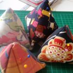 handmade pin cushion - deanysdesigns.co.uk