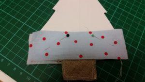 handmade scraps christmas tree decoration - deanysdesigns.co.uk