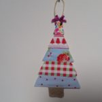 handmade scrap fabric christmas tree decorations - deanysdesigns.co.uk