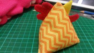 Handmade rice chicks ~ Deany's designs.co.uk